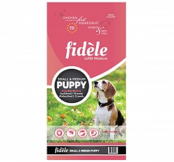 Fidele Small & Medium Breed Puppy Food - 4 kg