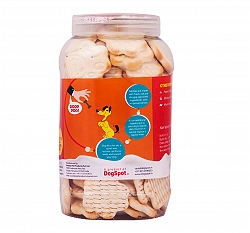 Nibbles Carrot And Milk Dog Biscuit - 500 gm