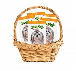 Jerhigh Carrot Stix Dog Treats - 70 gm (Pack Of 5)