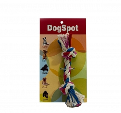 DogSpot Cotton Bone Rope Toy - Medium