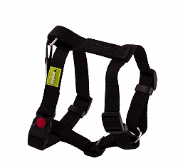 DogSpot Premium Harness Black 25 mm - Large