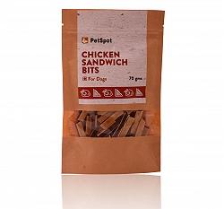 PetSpot Chicken Sandwich Bits - 70 gm