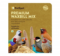 PetSpot Premium Wax Bill Mix - 800 gm