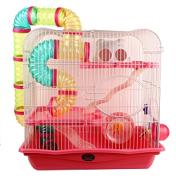 DogSpot Small Pet cage - (LXBxH - 17.7x11.8x17.7 Inches)