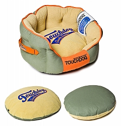 Touchdog Original Castle-Bark Ultimate Rounded Premium Dog Bed - Medium