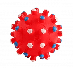 DogSpot Squeaky Vinyl Bubbly Ball Toy