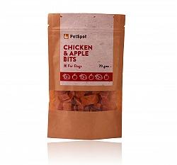 PetSpot Chicken & Apple Bits - 70 gm