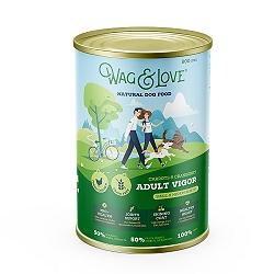 Wag & Love Grain Free Adult Vigor Small & Medium Breed Chicken, Carrot & Cranberry - 800 gm