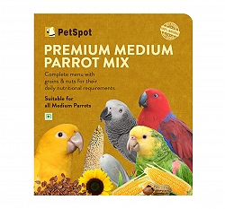 PetSpot Premium Medium Parrot Mix - 400 gm