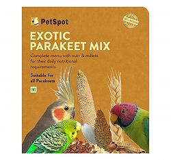PetSpot Exotic Parakeet Mix - 400 gm