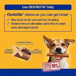 Pedigree Dentastix Large breed Adult Weekly Pack - 270 gm