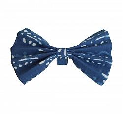 Paws A Little Indigo Adjustable Bow tie