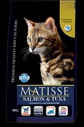 Matisse Adult Cat Food Salmon & Tuna - 400 gm