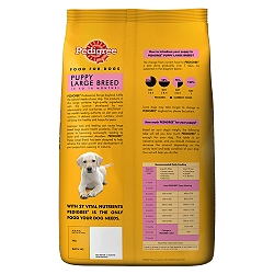 Pedigree Dog Food Puppy Large Breed Professional Kg