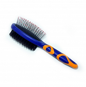 DogSpot Double Pin Brush - Large