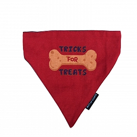 Mutt Of Course Tricks For Treats Bandana - Small