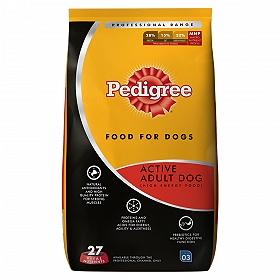 Pedigree Dog Food Active Adult Professional  - 10 Kg
