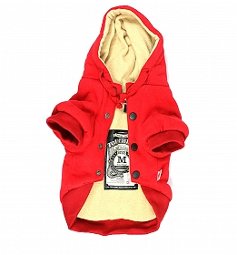 Touchdog Leisure Sport Style Hood Jacket - Small