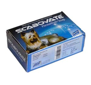 Scabovate Anti Tick-Flea Dog Soap 75 gram