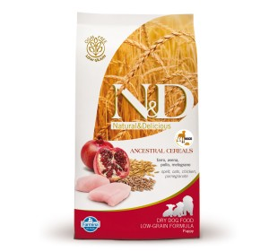 Farmina N&D Dry Dog Food Chicken & Pomegranate Puppy Maxi Breed - 12 kg