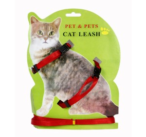 Cat Harness - Red