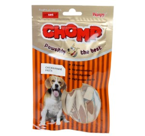 Chomp Chicken Penne Pasta Dog Treat - 80 Gm