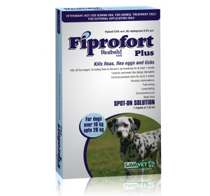 Savavet Fiprofort Plus Spot On For Medium Dogs - 1.34 ml
