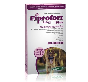 Savavet Fiprofort Plus Spot On For Large Dogs - 2.68 ml