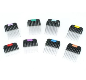 Wahl Color Code Metal Guide Combs For KM2 & Storm Dog Clippers