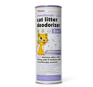 Petkin 2 in 1 Litter Deodorizer Lavender For Cat - 567 gm