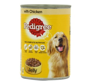 Pedigree Dog Can With Chicken in Jelly -  400 gm