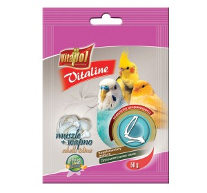 Vitapol Vitaline Shells And Lime Supplementary Mixture - 50 Gm