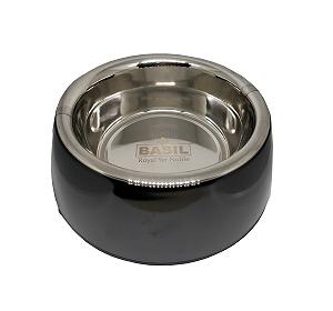 Basil Malamine Bowl Black - Medium