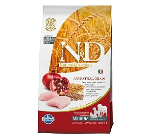 Natural & Delicious Chicken & Pomegranate Adult Medium - 2.5 Kg