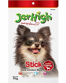 Jerhigh Stick Dog Treats-70gm