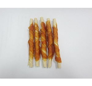 Milky Chew Stick With Chicken Dog Treat - 10 Pieces