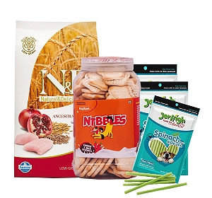 N & D Chicken & Pomegranate Puppy Maxi - 2.5 kg With Treats & Biscuit