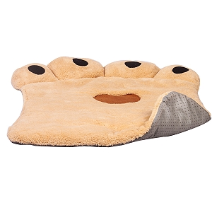 DogSpot Paw Shaped Dog Bed X-Large (LxBxH - 41x30x3 Inches)