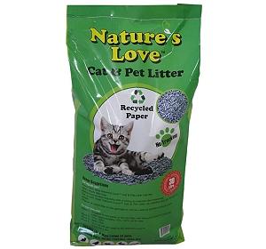 Nature S Love Paper Cat Litter 30 Ltr Dogspot Online