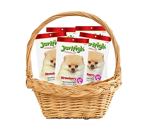 Jerhigh Strawberry Dog Treats - 70 gm  (Pack Of 5)