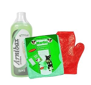Arnibax Dog Shampoo Vetnex - 450 ml With Glove & Towel