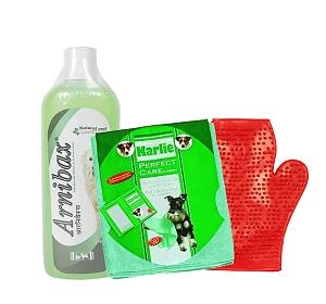 Arnibax Dog Shampoo Vetnex - 200 ml With Glove & Towel