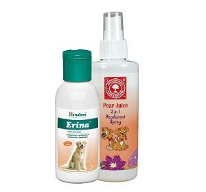 Himalaya Erina Coat Cleanser For Dog - 120 ml With Deodorant