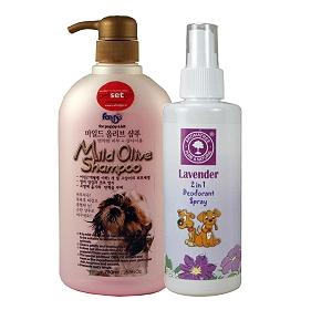 Forbis Mild Olive Dog Shampoo - 750 ml With Deodorant