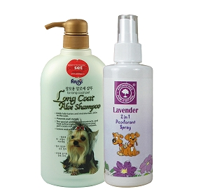 Forbis Long Coat Aloe Dog Shampoo - 750 ml With Deodorant