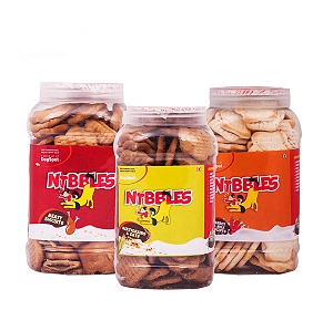 Nibbles Healthy Biscuit Pack - 1.5 kg
