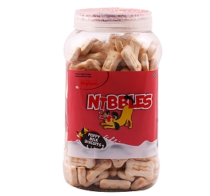 Nibbles Puppy Milk Biscuit - 500 gm