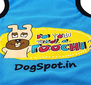 DogSpot Need a Poochie T- Shirt -Size 18