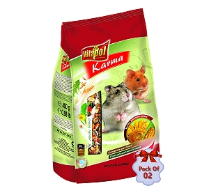 Vitapol Food For Hamster - 400 gm (Pack Of 2)