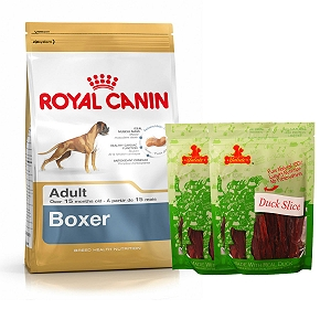 Royal Canin Boxer Adult - 3 Kg  With Duck Slices
